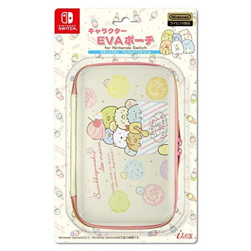 キャラクターEVAポーチ for Nintendo Switch (すみっコぐらし/ぺんぺんアイスクリーム)の商品画像