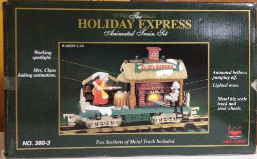 xpress Animated Train Set - Bakery Car 380-3 (Holiday Express Train Set)