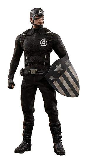 Amazon.com: Hot Toys Captain America (Concept Art Version ...