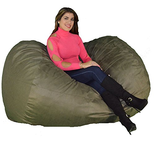 - Cozy Sack 640-CBB-OLIVE Maui Beanbag Chair, 6', Olive
