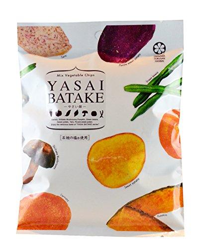 오키나와 현산 야채 밭 × 3 봉지 오키나와 특산 판매 7 종류의 야채의 맛을 담은 믹스 베지터블 칩 자녀의 간식 맥주 안주로 가벼운 스낵 감각으로 45g × 3 봉지 믹스 베지터블 칩