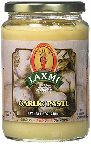 Amore Garlic Paste - Laxmi Traditional Indian Garlic Cooking Paste - 24oz