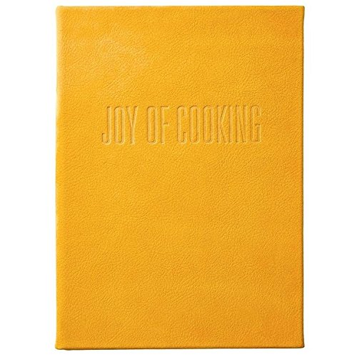 The Joy of Cooking Full-Grain Nubuck Suede Yellow Leather by Graphic Image™ -