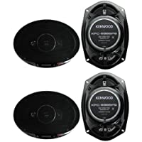 4) New Kenwood KFC-6985PS 6x9 1200 Watt 4-Way Car Audio Coaxial Speakers Stereo
