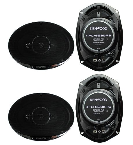 "4) New Kenwood KFC-6985PS 6x9"" 1200 Watt 4-Way Car Audio Coa"