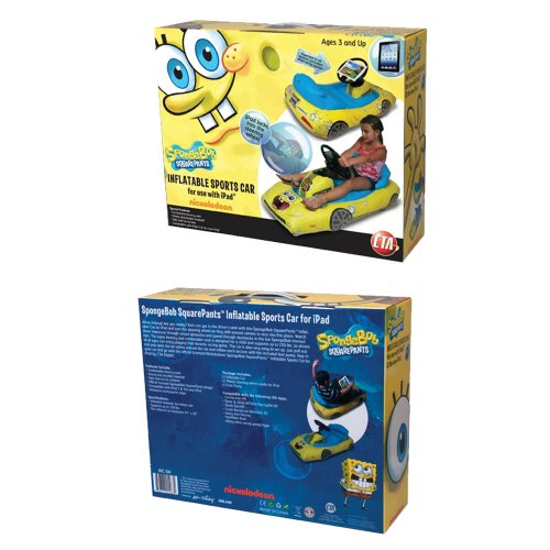 SpongeBob SquarePants Inflatable Sports Car for iPad by CTA Digital (Image #5)