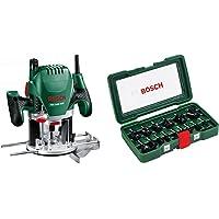Bosch POF 1400 ACE - Fresadora de superficie (1.400 W, en maletín) + Bosch 2607019469…