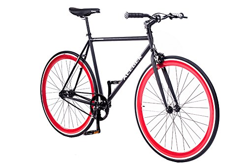 ACEGER Single-Speed Fixed Gear Urban Commuter Bike