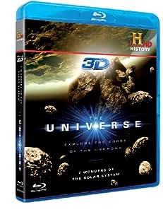 The Universe - 7 Wonders of the Solar System (Blu-ray 3D)[Region Free] [Reino Unido] [Blu-ray]