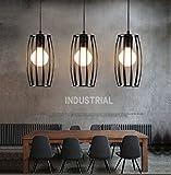Vintage Industrial Antique Restaurant Pendant Ceiling Lighting Geometric Edison