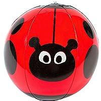 German Trendseller® - Wasserball Marienkäfer ┃ Mit Punkten ┃ Pool ┃ Pool...