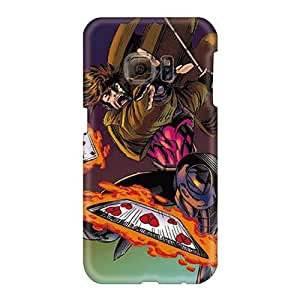 Bumper Hard Phone Cover For Samsung Galaxy S6 With Allow Personal Design Stylish Gambit I4 Series TimeaJoyce