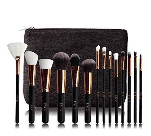 Esco 15 Piece Professional Makeup Brush Set