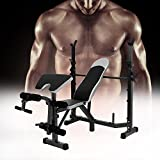 Lantusi Hyper Back Extension Bench,Adjustable Fitness Multi-Workout Abdominal/Hyper Back Extension Bench Core Strength Bench(US Stock)