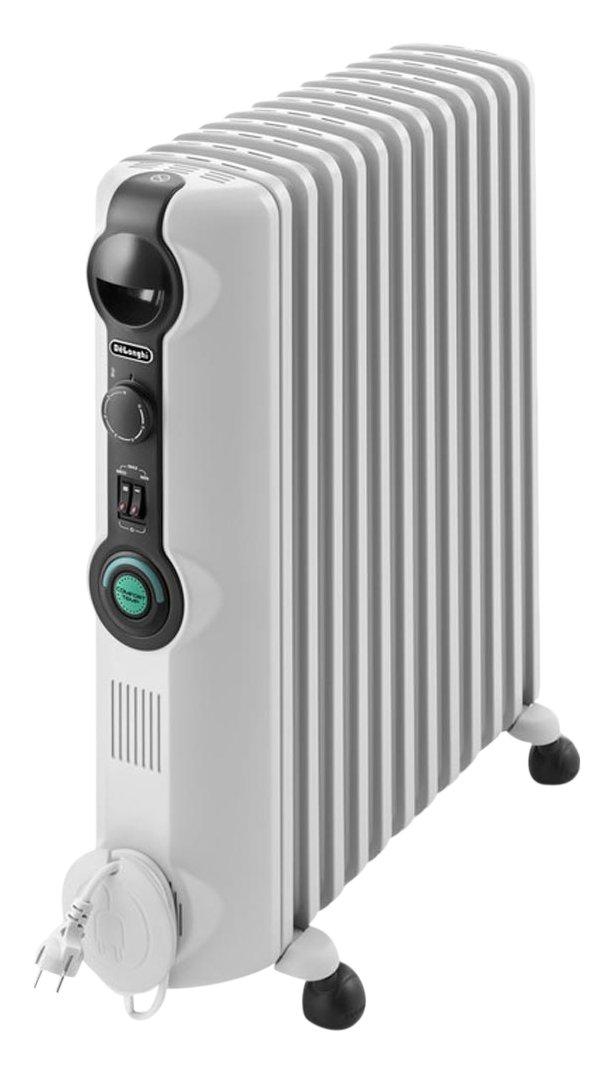 DeLonghi RADIA S TRRS 1225C Radiador, Termostato Ambiente Ajustable, Comfort-Temp