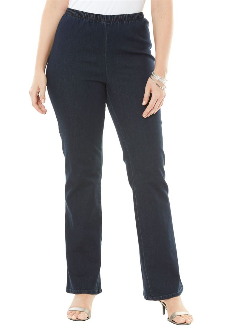 Women's Plus Size Stretch Bootcut Legging