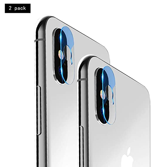 save off 9c895 76efc Phone Camera Lens Protector for iPhone X - Camera Lens Glass Film Anti-Fall  Tempered Camera Lens Glass Film Protective High Definition Protector for ...