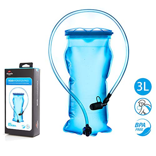 - Tentock Water Reservoir 1.5L/2L/3L Water Bladder Hydration System for Camping Backpackinging Running Cycling Hiking (3L)