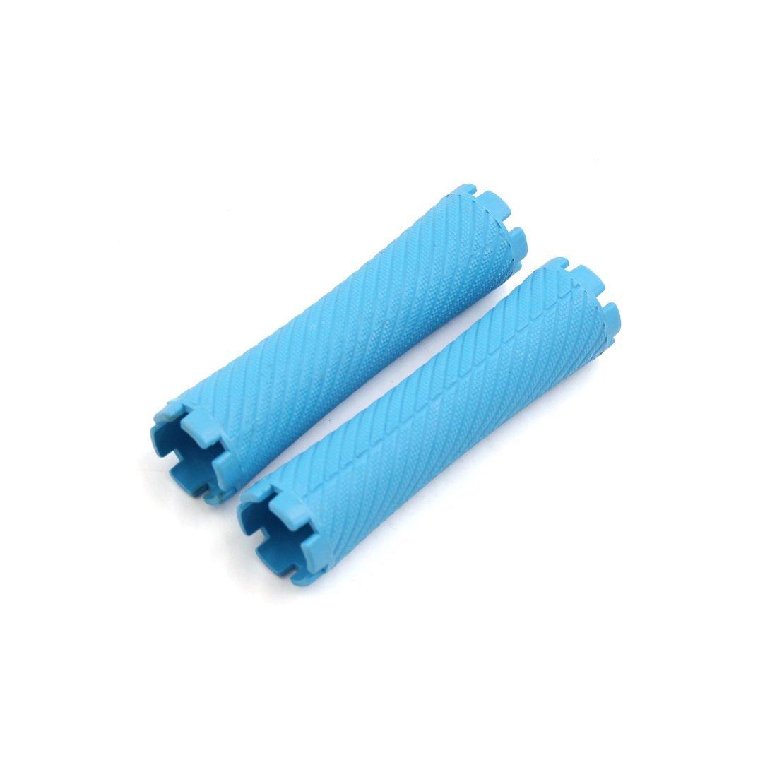 Amazon.com: eDealMax 20pcs plástico Azul de Estilismo Herramientas mismo sosteniendo rizador de Peinado Fabricante: Health & Personal Care