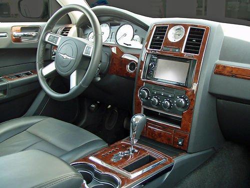 chrysler-300-300c-hemi-w-navigation-touring-interior-burl-wood-dash-trim-kit-set-2008-2009-2010