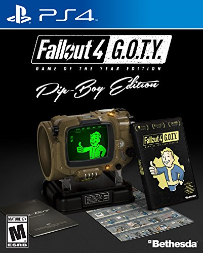 Video Games : Fallout 4 Game of The Year Pip-Boy Edition - PlayStation 4