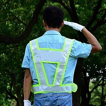 Uniteking Chaleco Reflectante de Seguridad en Forma de V Traje de ...