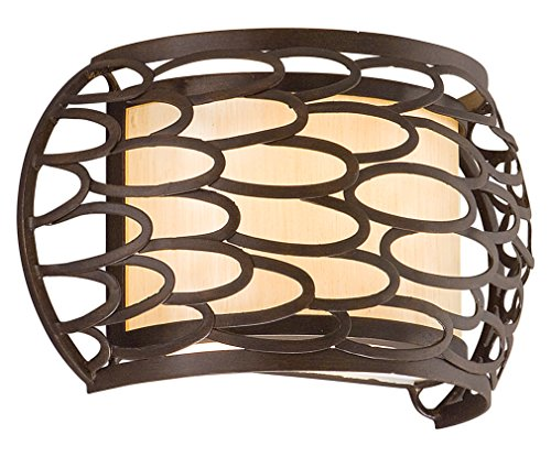 - Napoli Bronze One Light Wall Sconce From The Cesto Collection