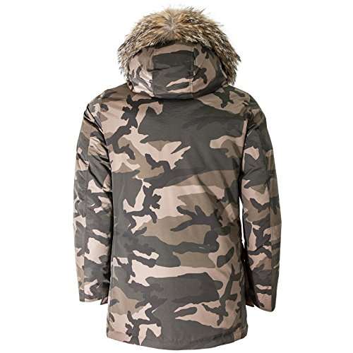 Camo Woolrich Giubbotto Arctic Camou Uomo Brown Parka Wocps2679 BB4vRqw