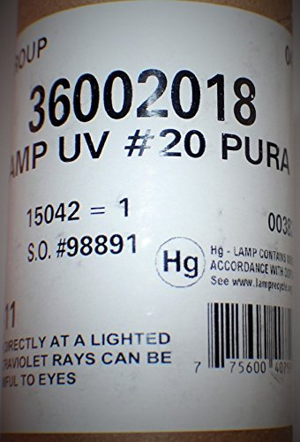 Genuine Made in america pura uv lamp #20, 36002018