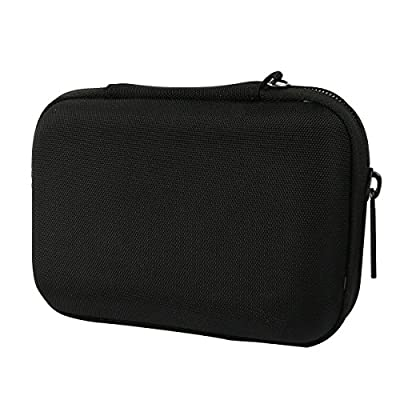 Khanka Portable EVA Hard Case Travel Carry Bag Cover for Western Digital WD My Passport Ultra,Elements SE/Toshiba Canvio/Seagate Backup Plus Slim/Transcend Portable 1TB 2TB External Hard Drive,Kingston MLWG2,RAVPower FileHub WD01