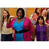 Alex Newell 8 Inch x 10 Inch PHOTOGRAPH Glee (TV Series 2009 - 2015) Between Melissa Benoist & Jenna Ushkowitz kn