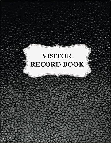 visitor log book