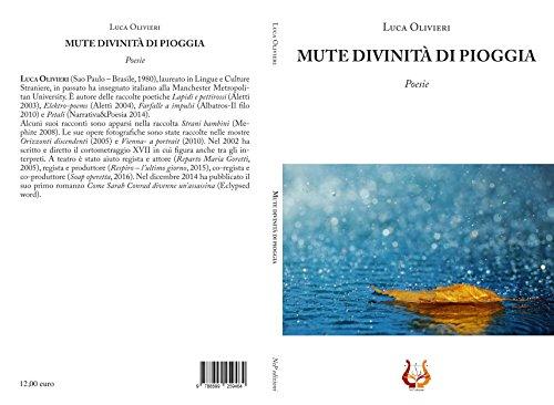 Mute Divinità Di Pioggia Poesie Italian Edition Kindle Edition