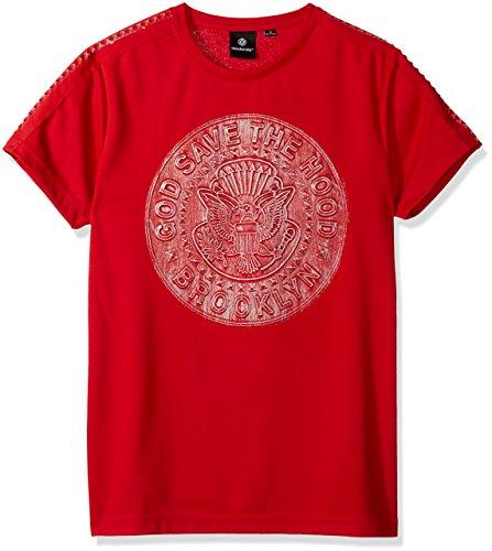 3d Shirt Metallic T Shirt Rot Fashion T Akademiks Homme W2IEDYH9