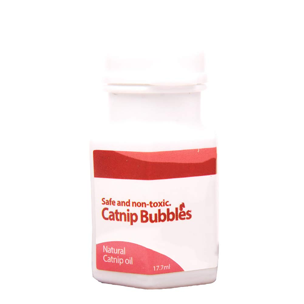 wanshenGyi Catnip Bubble, 17.7ml Natural Liquid Catnip Bubbles Oil Blower Cat Kitten Interactive Toys, Home Life, Travel