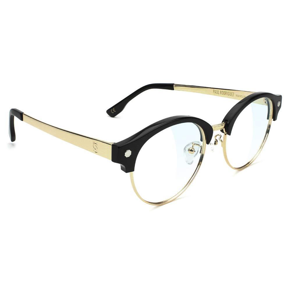 2926f0dbac Amazon.com  Glassy Paul Rodriguez Premium Plus Gamer Computer Glasses Black  Frame  Clothing