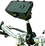 Extended 9cm Metal Motorcycle Mount & Dock for TomTom Rider Rider 2, Urban & PRO