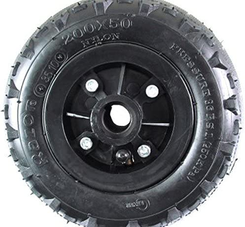 Set of 2 w// Knobby Tires! Razor 200 x 50 Dune Buggy FRONT Wheels