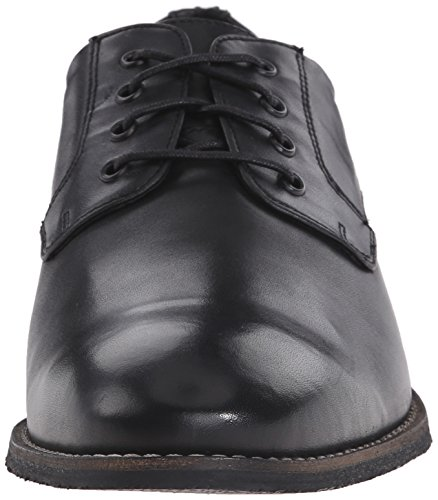 Nunn Bush Mens Howell Plain-teen Oxford Zwart