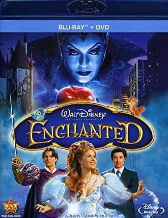 Amazoncom Enchanted Blu Ray Dvd Amy Adams Patrick Dempsey