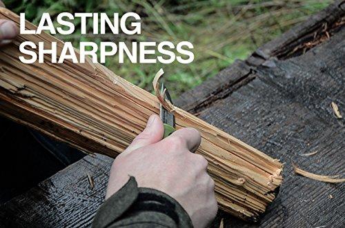 Morakniv Eldris Fixed-Blade Pocket-Sized Knife with Sandvik Stainless Steel Blade and Plastic Sheath, Green, 2.2 Inch by Morakniv (Image #5)