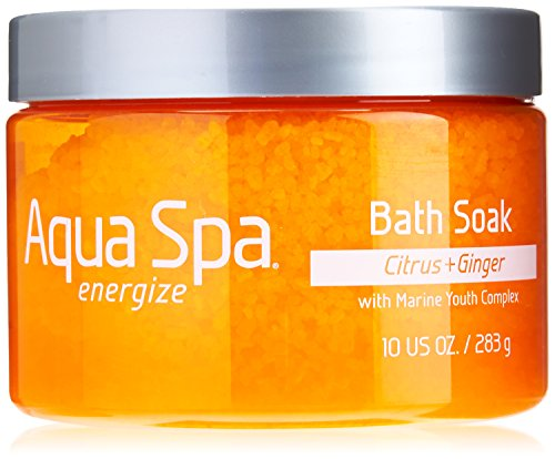 Aqua Spa Energize Bath Soak, 10 Ounce