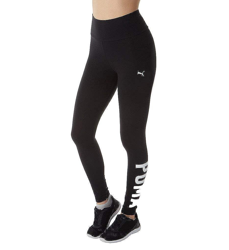 Black White XLarge PUMA Women's Athletic Leggings Womens