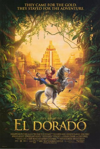 Image result for the road to el dorado poster