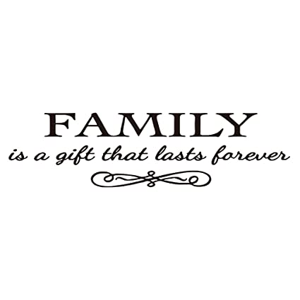 Amazoncom Hacaso Family Is A Gift That Lasts Forever Bedroom Quote