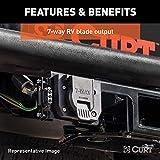 CURT 56393 Vehicle-Side Custom RV Blade 7-Pin