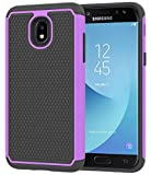 Galaxy J3 2018 Case,Galaxy J3 Star Case,J3 Achieve Case,Galaxy Express/Amp Prime 3 Case,Galaxy J3 V 3rd Gen/J3 Orbit/J3 Aura/Sol 3 Case,Asmart Defender Cover Phone Case for Samsung Galaxy J3V,Purple