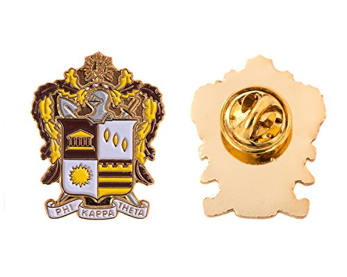 Desert Cactus Phi Kappa Theta Fraternity Crest Lapel Pin Enamel Greek Formal Wear Blazer ()