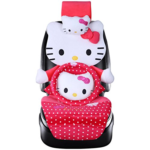 red hello kitty car seat covers