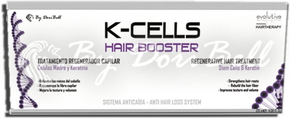 Tratamiento Ampollas K-CELLS Hair Booster Evolutive 12 unidades.